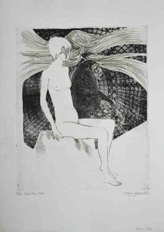 Sybil - Original Screen Print by Leo Guida - 1972