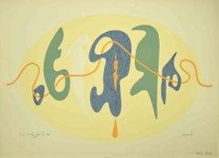 The Signals - Original Lithograph by Leo Guida - 1984