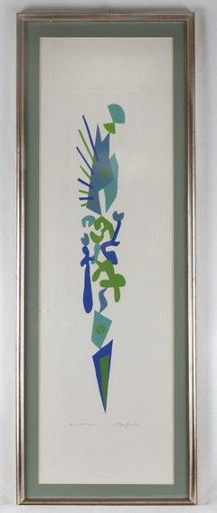 Vertical - Original Etching by Leo Guida - 1995