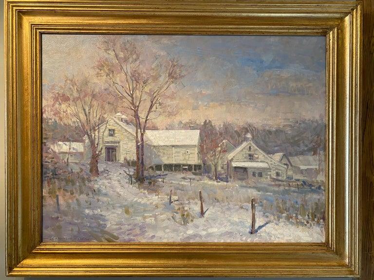 Codman Farm - Painting by Leo Mancini-Hresko