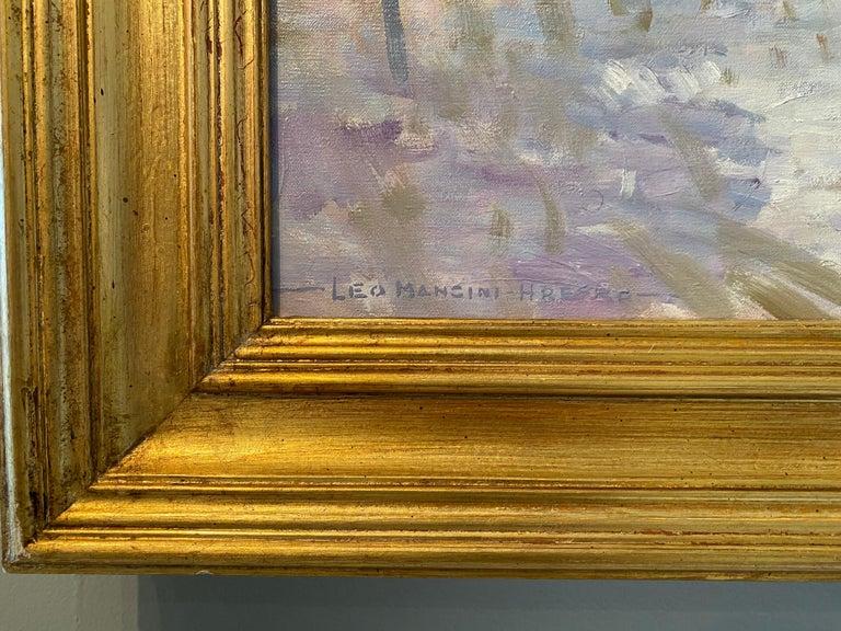 Codman Farm - American Impressionist Painting by Leo Mancini-Hresko