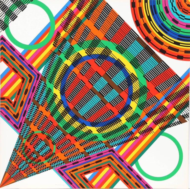 Leo Maranz Abstract Print - Crescendo