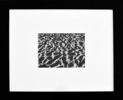 Arena de la Playa - B&W Photography Framed