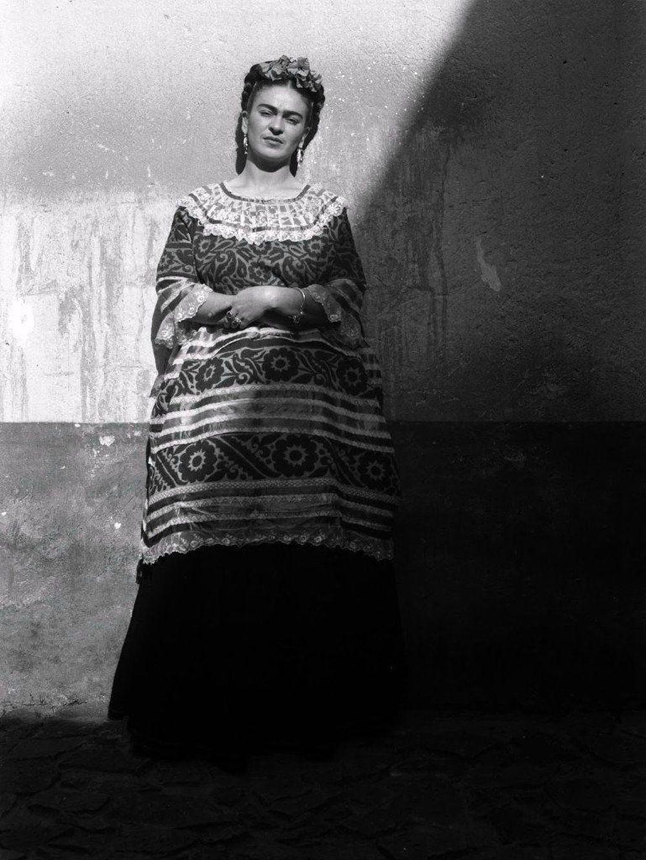 Frida en la casa azul, Coyoacán México. Platinum edition. Framed.