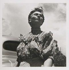 Frida Kahlo Portrait, Photograph by Leo Matiz