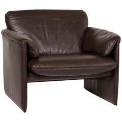 Leolux Bora Leather Armchair Brown Dark Brown