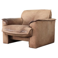 Leolux Buffalo Leather Lounge Chair
