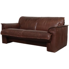 Leolux Buffalo Leather Love Seat