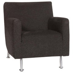 Leolux Fabric Armchair Black