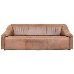 Leolux Helles Büffelleder 3-Sitzer-Sofa