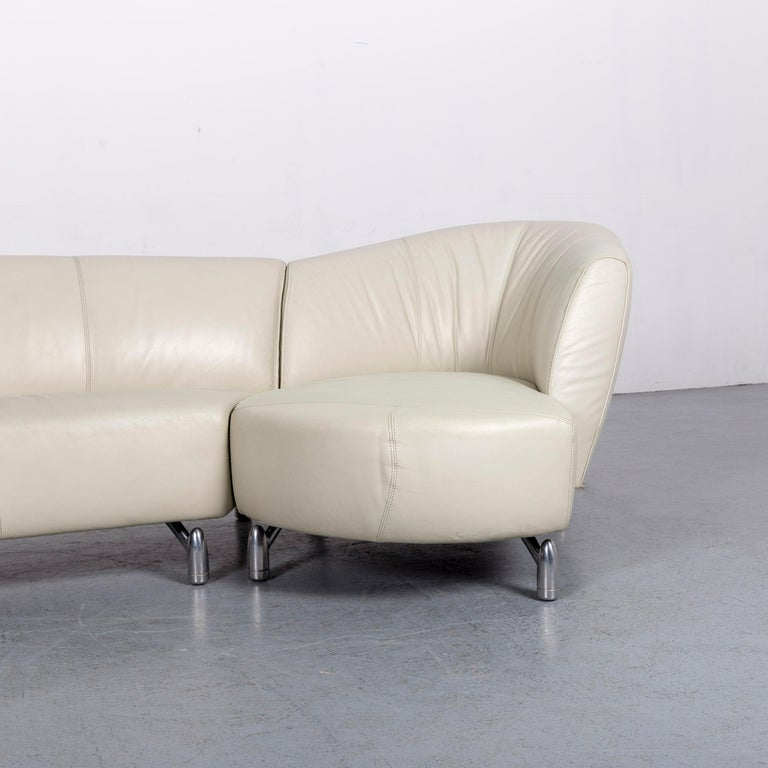 Leolux Pupilla Designer Corner Sofa Grey Couch For Sale At