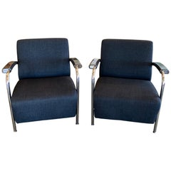 Leolux Scylla Chairs, Pair