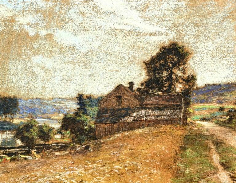 La Fenaison - Painting by Léon Augustin Lhermitte