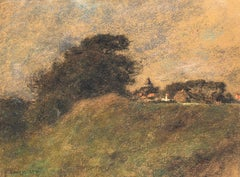 Paysage Wissant - Léon Augustin Lhermitte - Pastel on Paper
