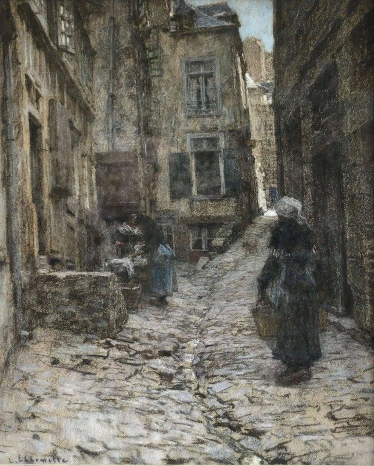 Léon Augustin Lhermitte Figurative Painting - Saint Malo