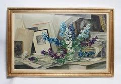 Inside the Artist Studio, Still Life by Leon Dolice