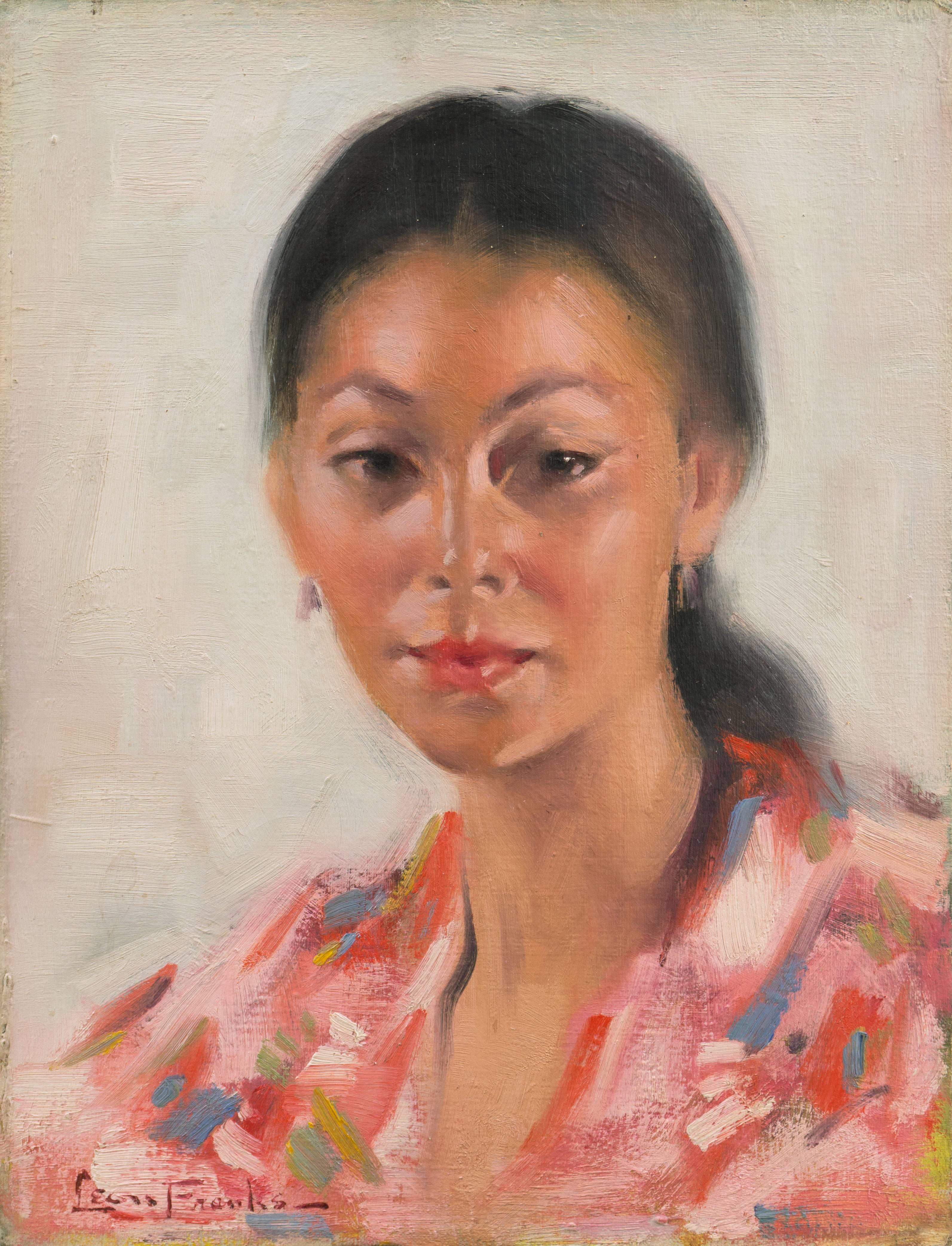 'Portrait of a Young Woman', Academie Chaumière, Paris, Chouinard, Art Center