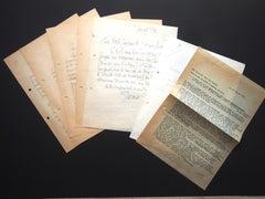 Original Correspondence by L. Gischia to N. Jacometti - 1960