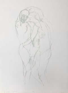 The Lovers, Lithograph by Leon Golub
