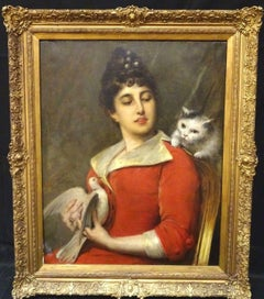 Her Favourite Pets, 19th Century
