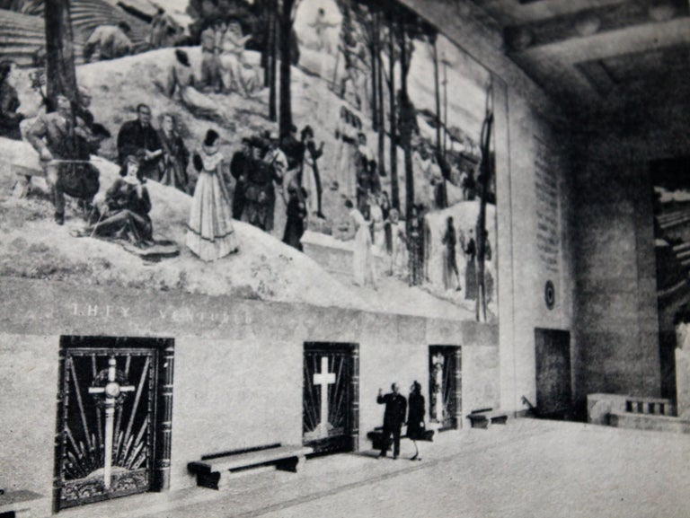Other Leon Kroll Charcoal Study for Central Panel of Worcester Mural For Sale