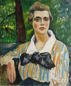 Fauve Portait of a Woman