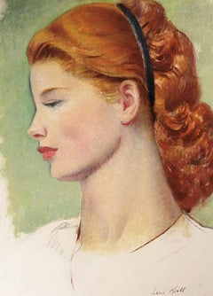 Portrait of a Redhead in Profile