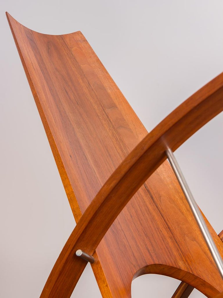 Leon Meyers Studio Craft Rocking Chair For Sale At 1stdibs