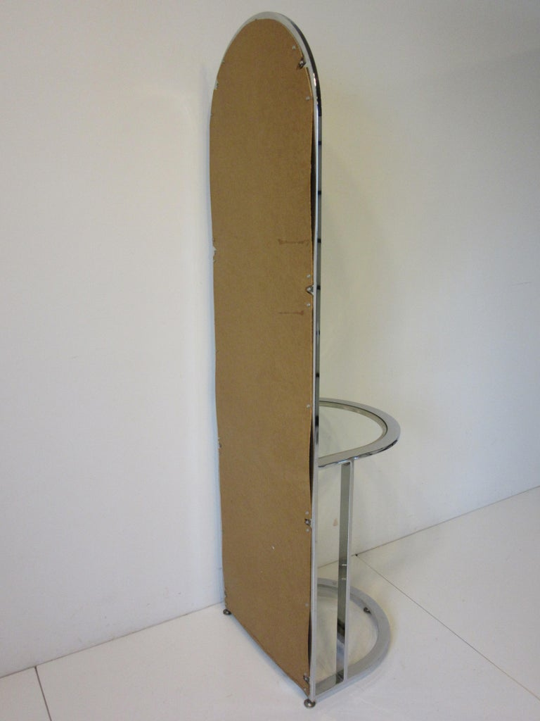 Leon Pace Standing Racetrack Hall Mirror for the Pace Collection For Sale 4
