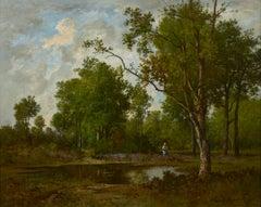 Mare dans la Clairière, Forêt de Fontainebleau