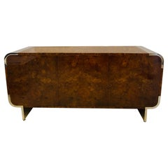 Leon Rosen Burl Credenza Pace Collection
