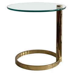 Leon Rosen for Pace Cantilevered Side Table