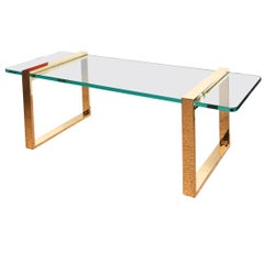 Leon Rosen for Pace Sculptural Cocktail Library Table