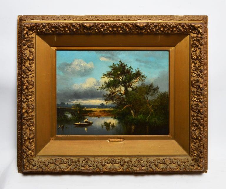 19th Century French Barbizon Landscape by Leon-Victor Dupre - Painting by Léon-Victor Dupré