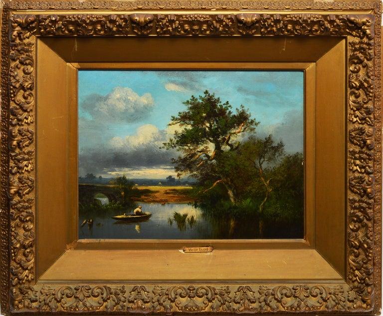 Léon-Victor Dupré Landscape Painting - 19th Century French Barbizon Landscape by Leon-Victor Dupre