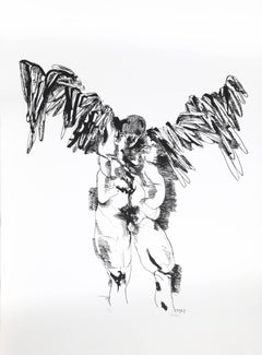 Icarus, Lithograph, 1969