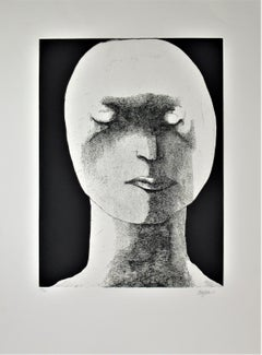 Woman with Downcast Eyes