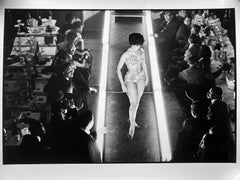 Beauty Contest, Harlem, Black and White Photography of African American Fashion
