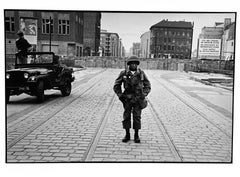 Berlin, Germany, African-American Soldier in Europe And Civil Rights Photography