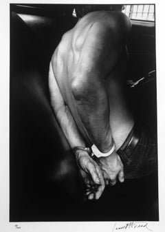 Handcuffed, New York City, Black & White Documentary Photograph, Edition 19/25