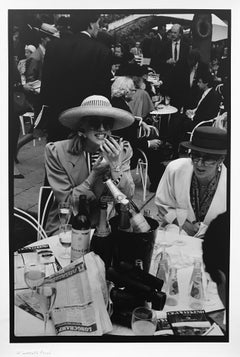 Paris Longchamp, 1989 by Leonard Freed, signed and stamped vintage