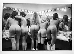 Stripper Performers, Atlanta, Vintage Photograph Nude Female Dancers USA 1990s