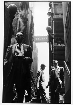 """Wall Street, Documentary Black and White Street Photography, 24"""" x 20"""""""