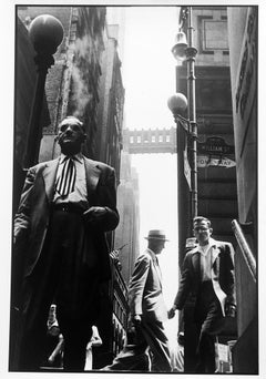 Wall Street, New York City, Black and White Contemporary Documentary Photography