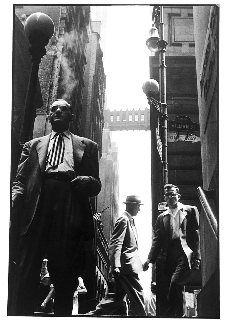 Wall Street, New York City, signed and editioned print