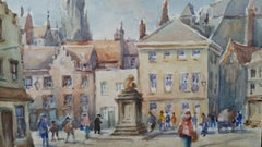 Mid 20th Century, Belgium, a Morning in Bruges