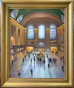 Grand Central Terminal, original 30x24 contemporary  impressionist NYC landscape