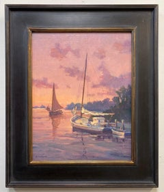 Sunset Returns, original marine landscape