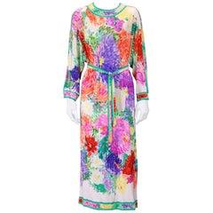 Leonard Paris Easy Silk Jersey Dress