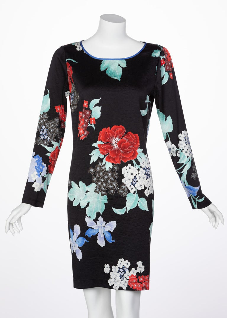 Hand-designed, Leonard prints exude an elegance that is only achieved through artisanal creation. While widely known for a variety of prints, Leonard florals are undoubtedly the most exquisite. Made from an understated black silk seersucker, this